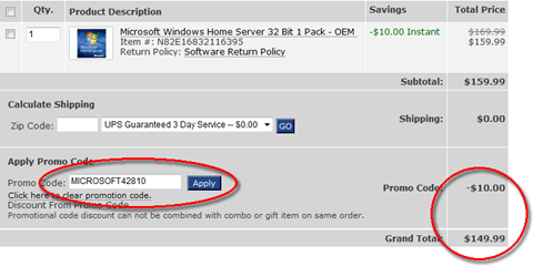 """Newegg is the best choice for the latest computer parts, PC components, laptop computers, digital cameras and many more products.. How to Use a Newegg Coupon Code Online. Add desired item(s) to the shopping cart. Click the shopping cart icon on the top right corner. Enter your code into the """"Enter Promo Code"""" box and click """"Apply.""""."""